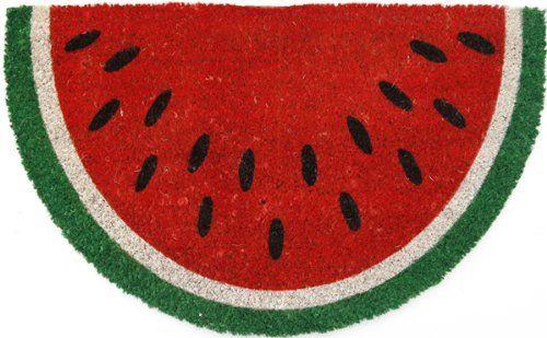 Entryways Non Slip Coir Doormat, 17-Inch by 28-Inch, Watermelon Entryways,http://www.amazon.com/dp/B00BXNJ5KE/ref=cm_sw_r_pi_dp_Xl6etb08Z344J1G8