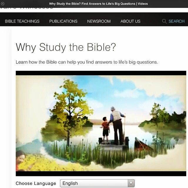 Why You Should Study The Bible Video Available On Www Jw Org Spiritual Pictures Bible Video Bible
