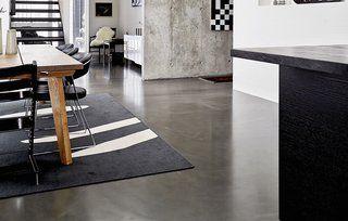 Raw floors of epoxy or concrete   – Gulve