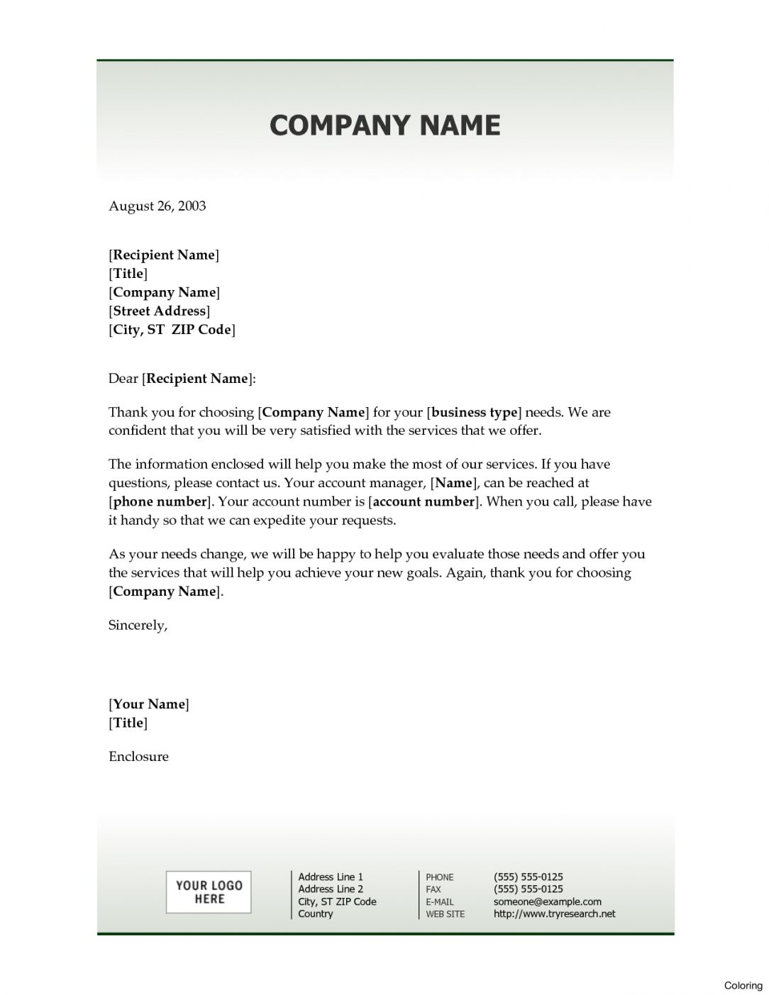 Explore Our Example Of New Client Welcome Letter Template In 2020