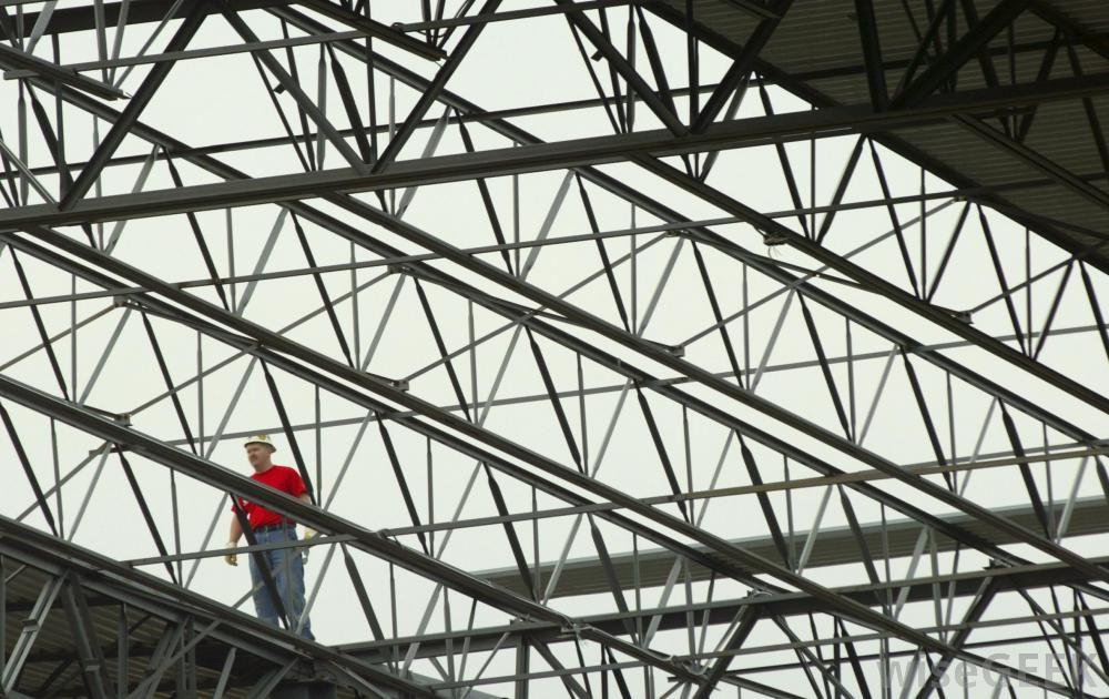 Girder truss roof construction pinterest for Building roof types