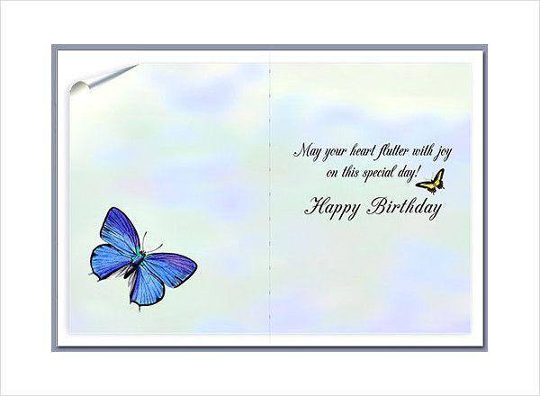 birthday card templates free amp premium happy design template - birthday card templates free