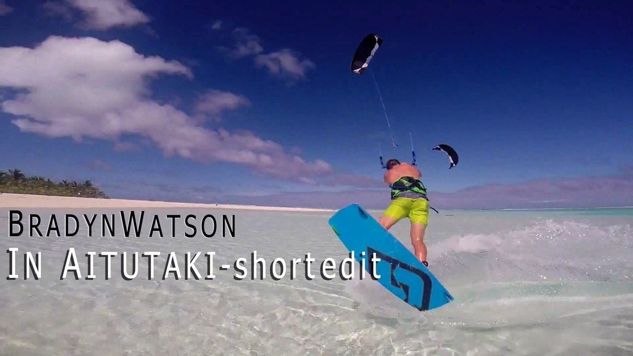 Bradyn Watson in Aitutaki - short edit. Over the winter break I got the opportunity to travel to Atutaki and Kiteboard with one of the world...