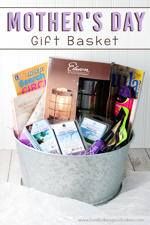 Mother's Day Gift Basket #WicklessWonders #Ad