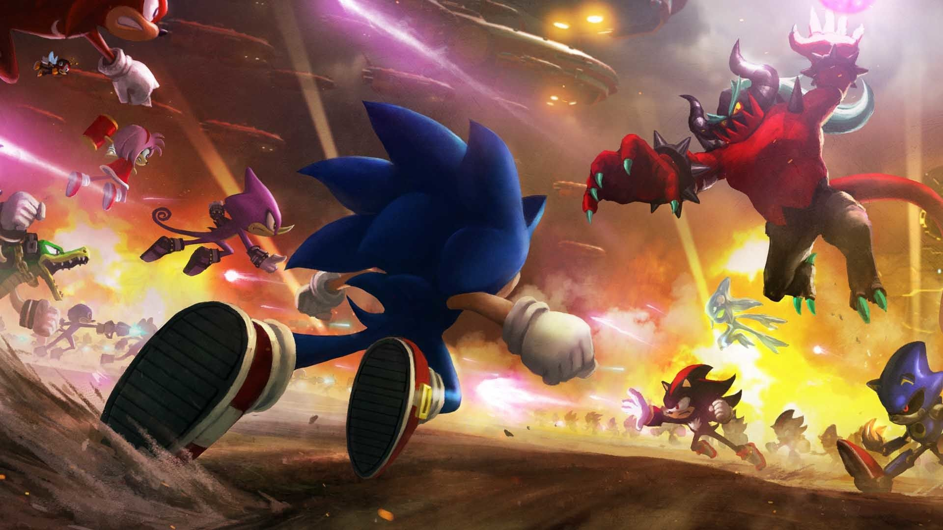 Sonic Wallpaper HD for Desktop download free