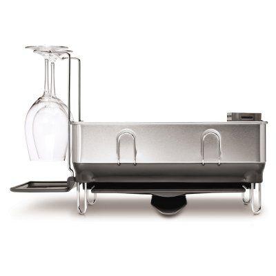 simplehuman Compact Steel Frame Dishrack - KT1168 | Steel frame ...
