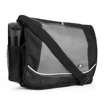 SumacLife Laptop Canvas Crossbody Messenger Shoulder Bag Travel School Satchel