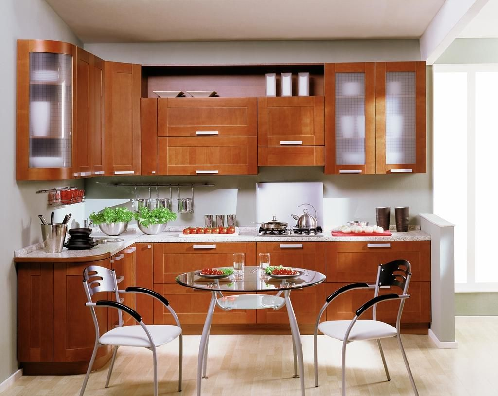 Ordinary Round Kitchen Table Set In Small Space The Middle As Well Brown Woden Cabinet And