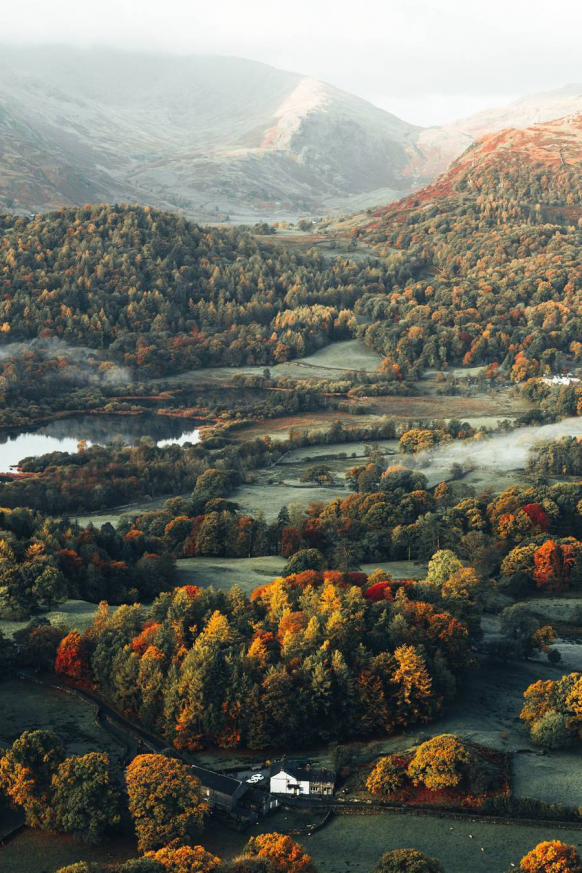 Wanderlusteurope Loughrigg Fell Lake District England Outdoorwood In 2020 Beautiful Landscapes Beautiful Nature Scenery