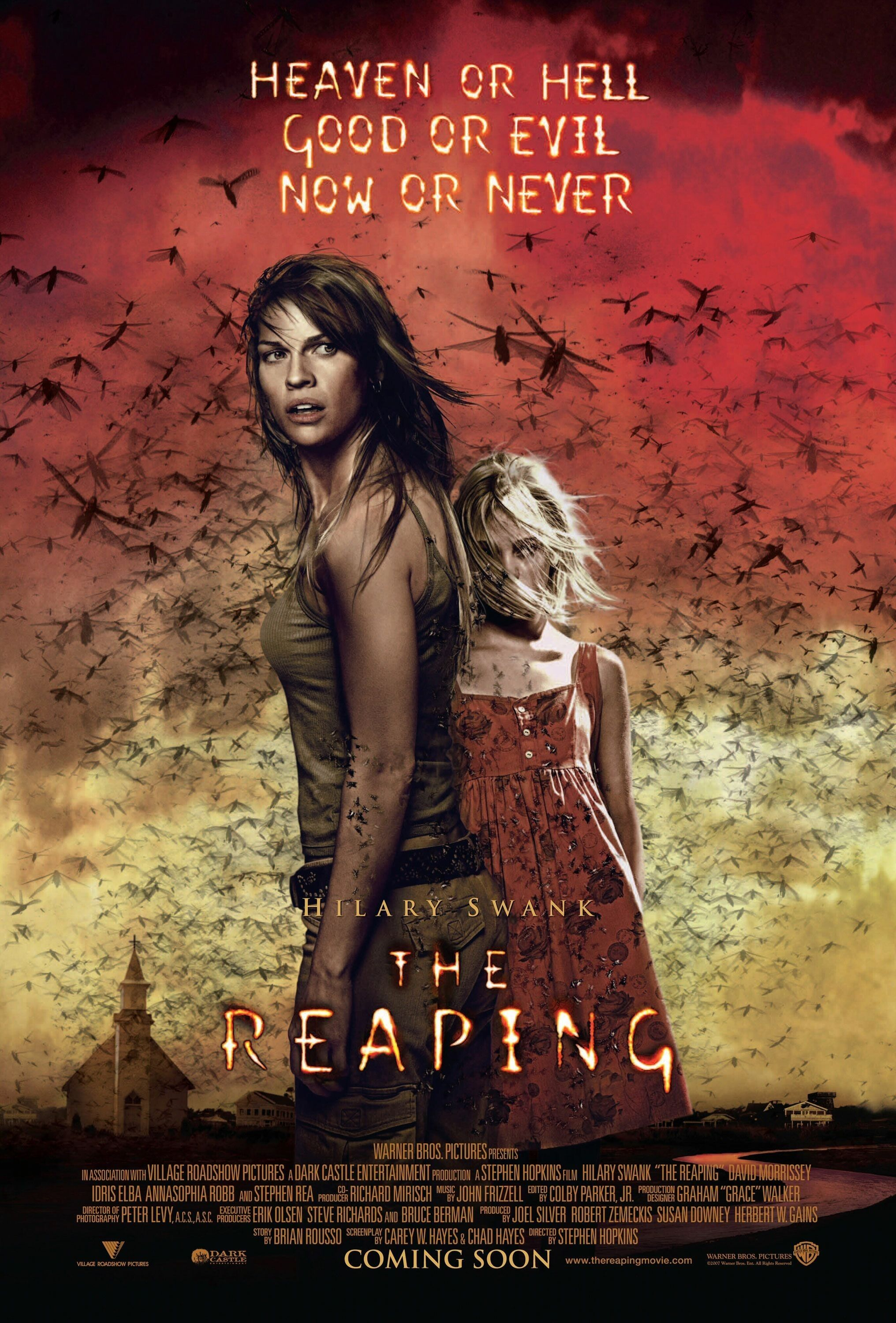 poster of the reaping (2007) in hindi english dual audio 300mb