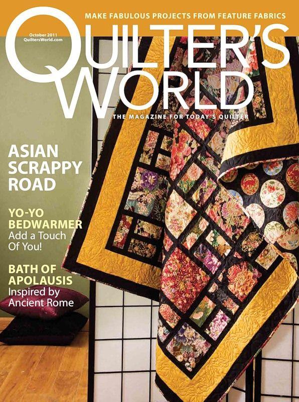Quilter World - October 2011