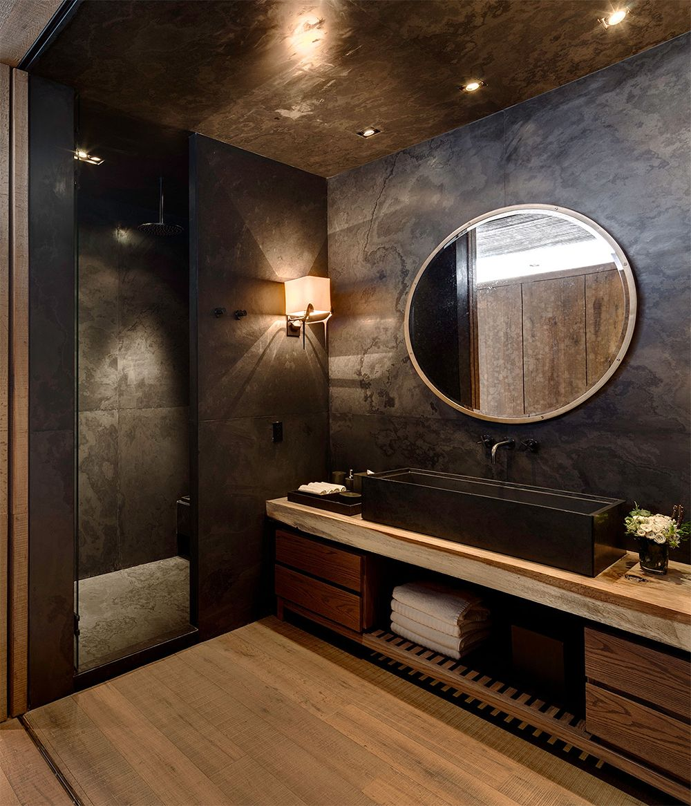 Roomdecorideasbathroomideasluxurybathroomblackbathroom Custom Luxury Bathroom Decorating Ideas Decorating Inspiration
