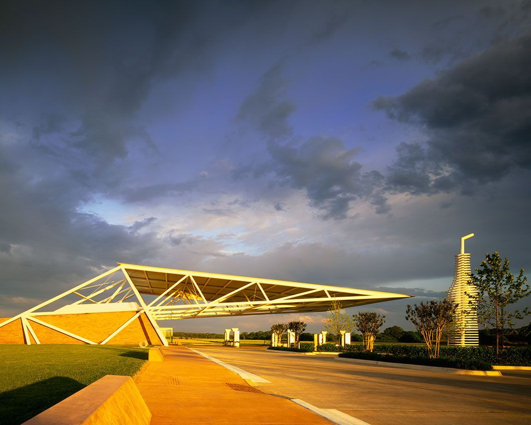 Architects have identified the 10 most beautiful gas stations in the