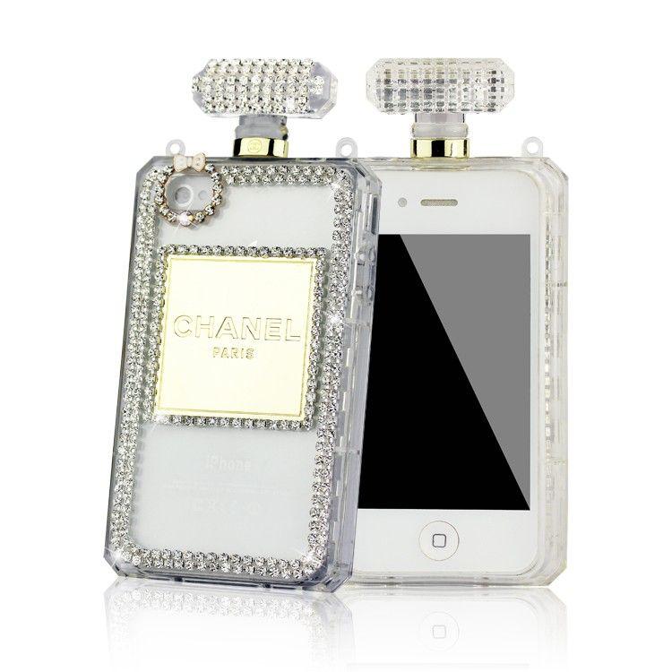 Coque Flacon de Chanel N°5 avec strass pour iPhone 6/6 plus iphone ...