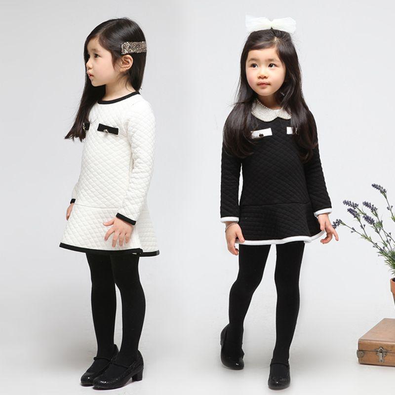 635540c66ec 2013 Winter Children Colthes Korean Girls  Dresses Foreign Trade Kids Wear