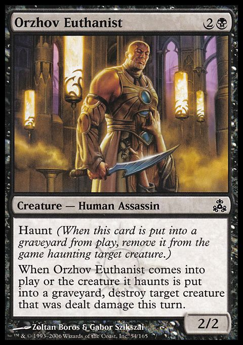 Orzhov Euthanist Magic The Gathering Card Info Magic Cards The Gathering Magic The Gathering This name has a hebrew, portuguese origin and the meaning of the name is 'breath' or 'vanity'. orzhov euthanist magic the gathering