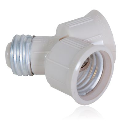 This Is Our Light Bulb Socket Splitter For Led Cfl And Standard Lightbulbs Why Install Another Socket When You Can Use Led Light Bulbs Light Bulb Light Bulbs