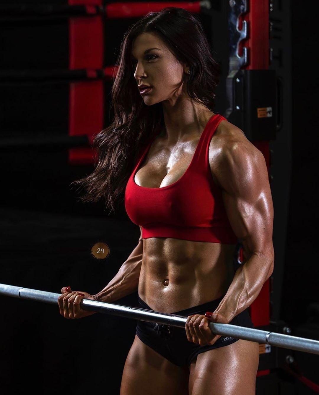 Pin By Tom Jones12345 On Fit 1 Muscle Women Muscle Girls Fitness Models Female