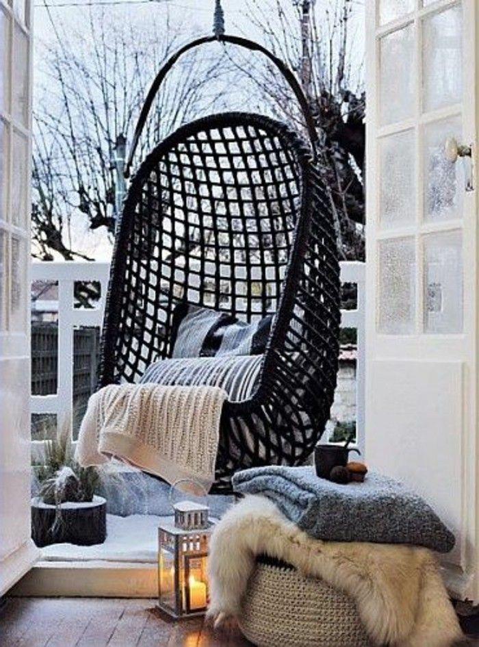 Hängematte Wohnung Balkon Veranda Hänge Pinterest - designer hangematte metall gestell