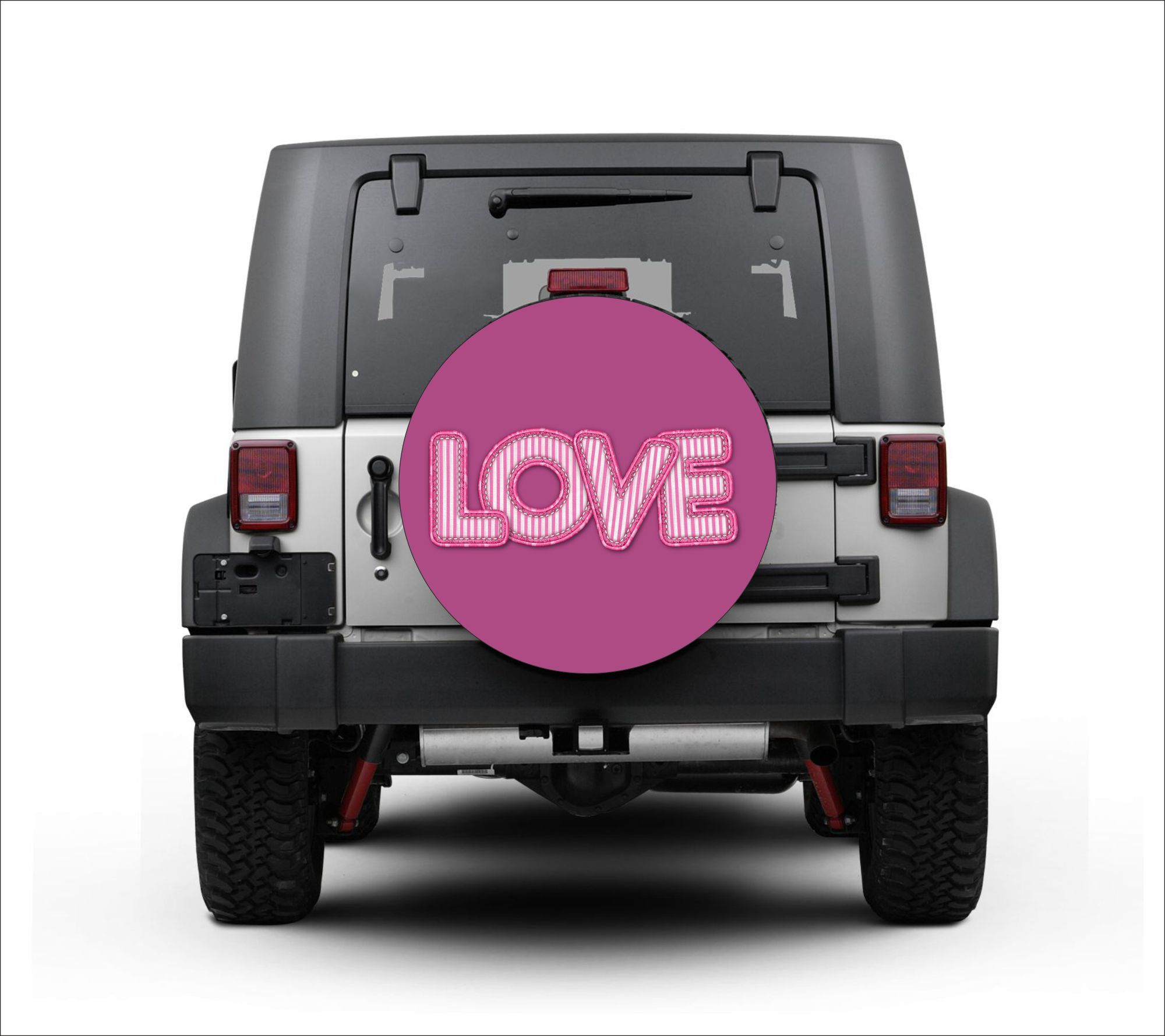 Universal Tire Cover Wheel Cover For Jeep Wrangler Love