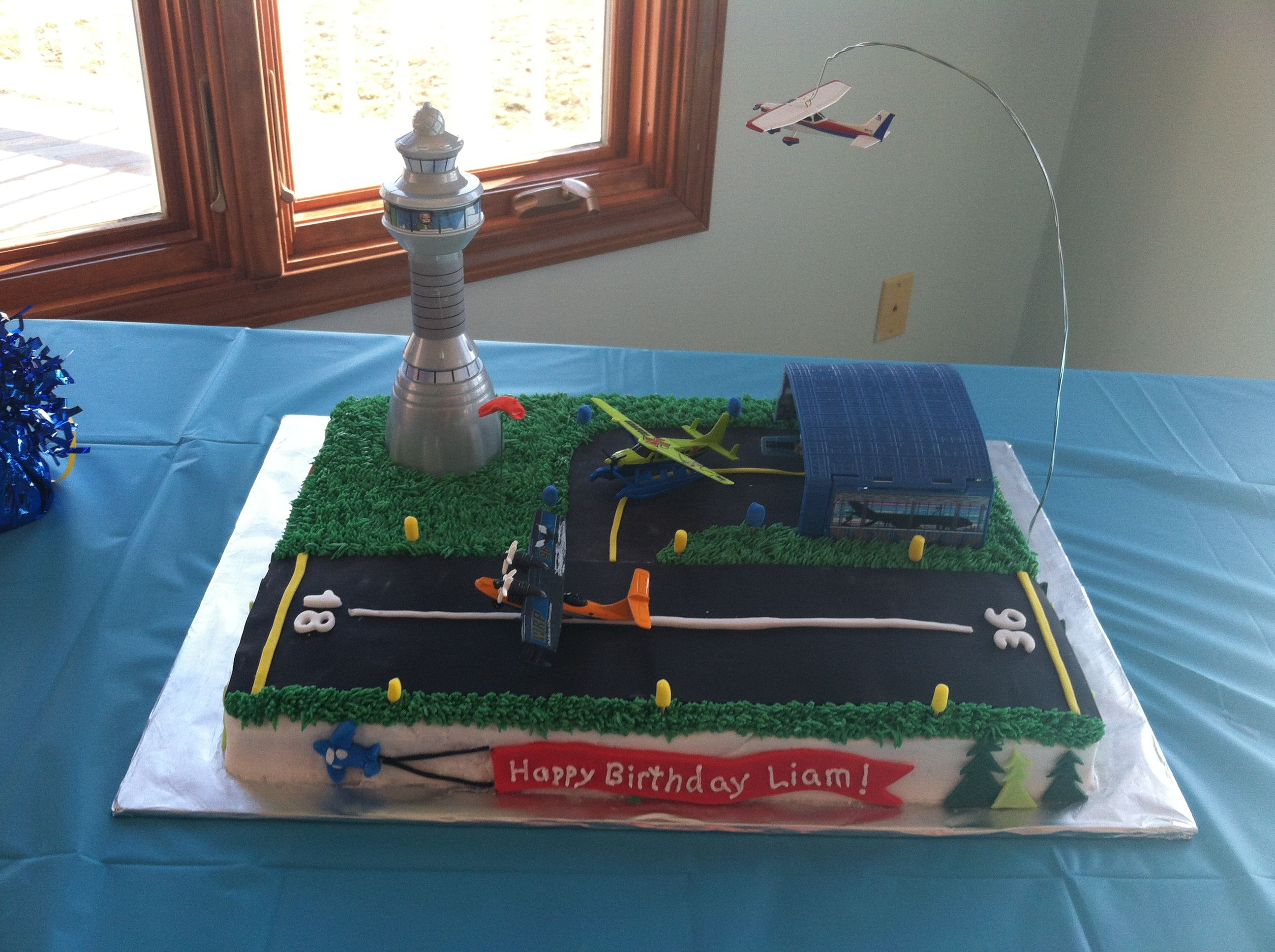 Airport Birthday Cake Cakes Pinterest Birthday Cakes Birthday