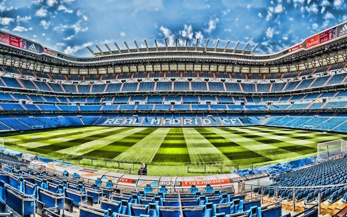 Download wallpapers Santiago Bernabeu, 4k, Real Madrid ...