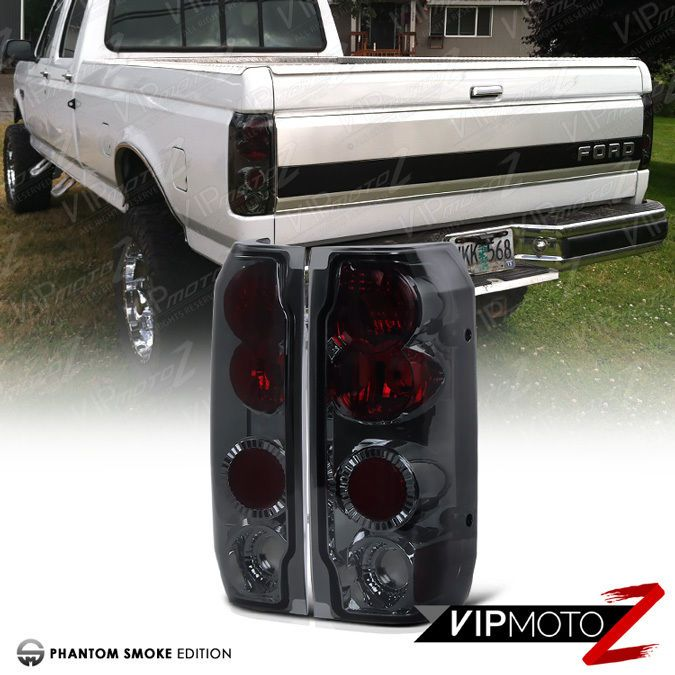 Bestlook For 89 96 Ford Bronco F150 F250 F350 Smoke Red Rear Tail