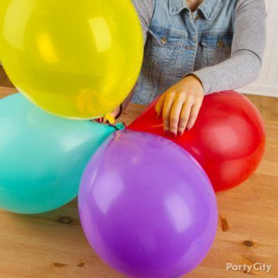 Spiral Balloon Column How To Party City Balloon Columns Balloons Online Party Store