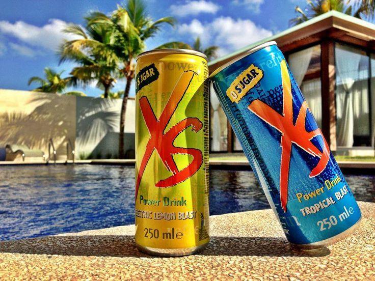 XS Energy drink flavor Electric Lemon Blast & Tropical ...