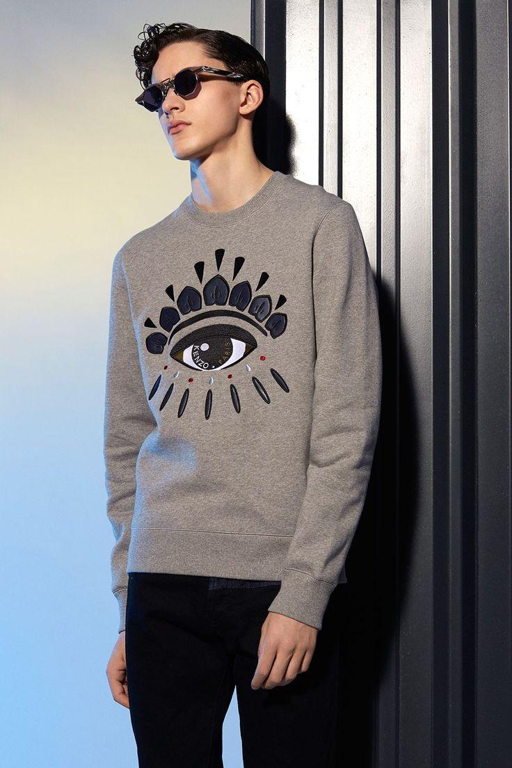 1d2c61cc7864 Kenzo Eye sweatshirt - Kenzo Sweatshirts   Sweaters Men - Kenzo E-shop €195
