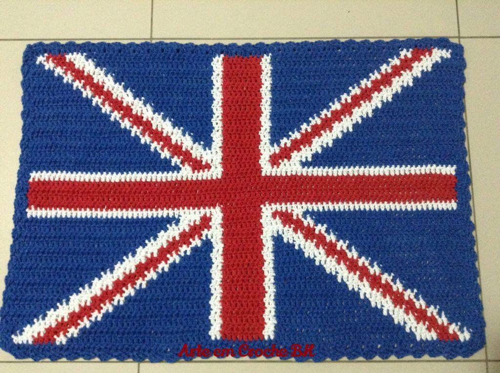 Bandeira Reino Unido Flag Costuras Roupas Artesanato Arte Em