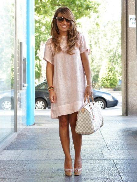 6135378586b Летние платья из льна 2017 (57 фото)  модные фасоны