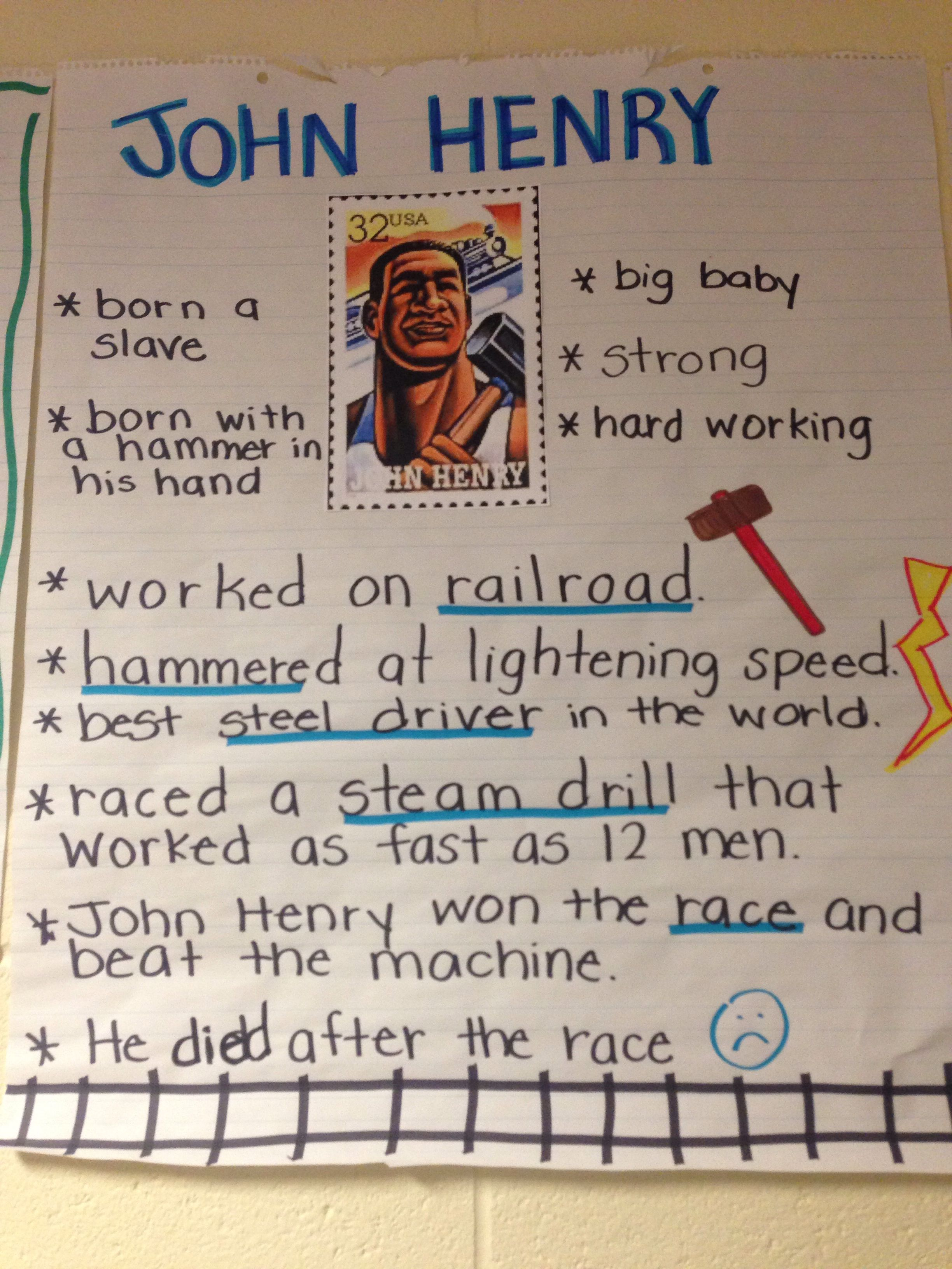Worksheet American Tall Tales