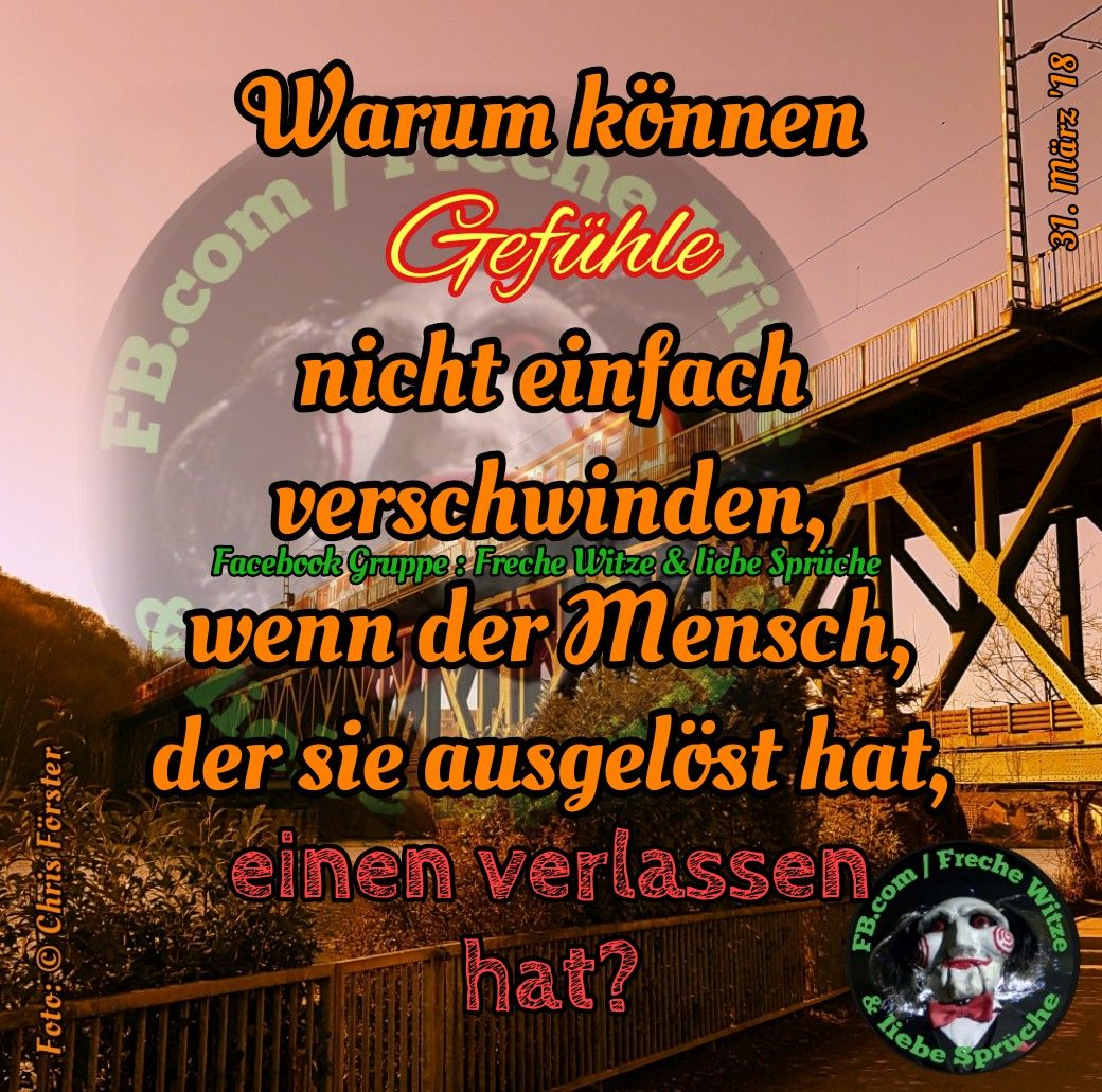 Facebook Gruppe: Freche Witze & liebe Sprüche #spruch #gefühle