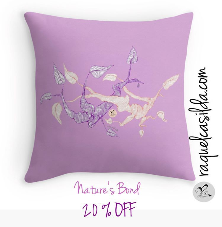 oday all my pillows get 20% OFF at #RedBubble! 😱 Isn't great? 😃 They are super soft and come in 3 sizes with the selected design printed on both sides; designed to suit even the most extravagant of couches and beds. Use code FORTHEM20 at checkout. Expires today November 21, 2016 at 11:59pm This is the link to the shop: goo.gl/jkzq9G ☺️ 🌺 Happy Monday everyone!