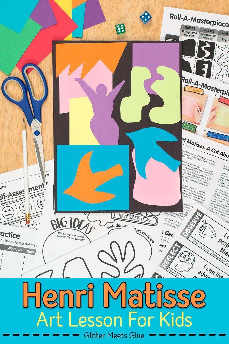 Photo of Glitter Meets Glue   Art Lesson Plans & Teacher Resources
