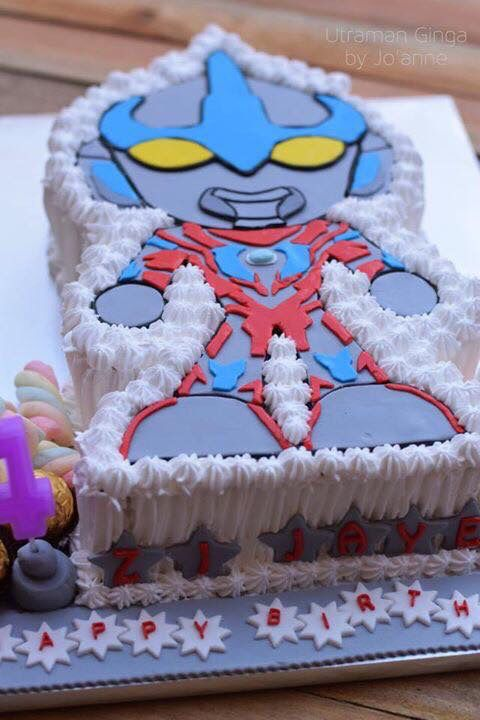 Ultraman Ginga Cake Cream Cake Desserts