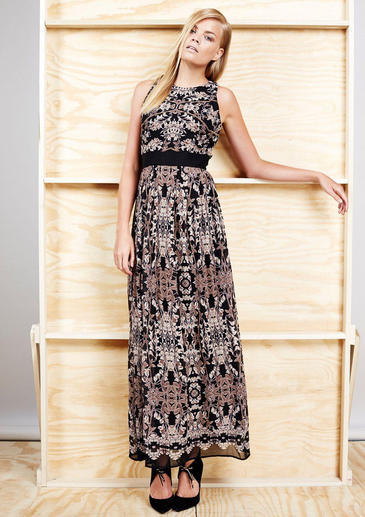 TAYLOR Sleeveless Maxi Dress $74.99