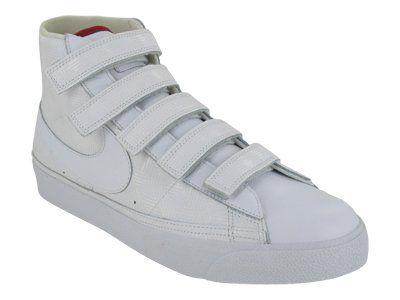 fa599d523d2b2 Amazon.com: Nike Blazer AC High (White / White-Varsity Red-Pine ...