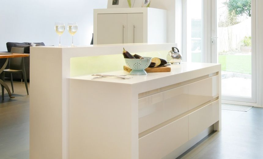 Corian® Island By Newcastle Furniture Company And Ruth Bond Interior Design    Kitchens   Products