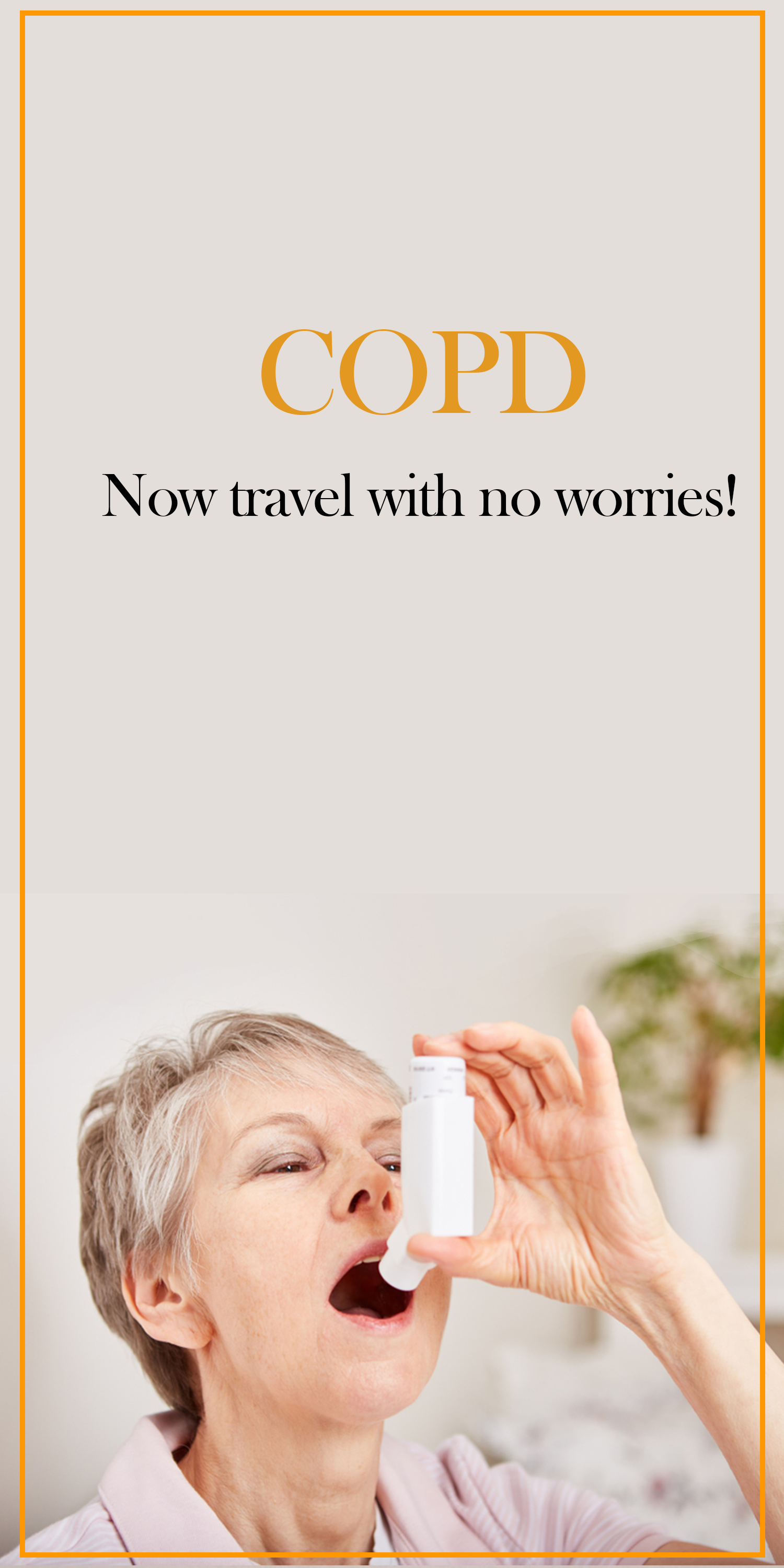 Copd Symptoms During Travel Let Us Help You Plan A Safe Trip With Copd Copd Chronic Obstructive Pulmonary Disease Pulmonary Disease