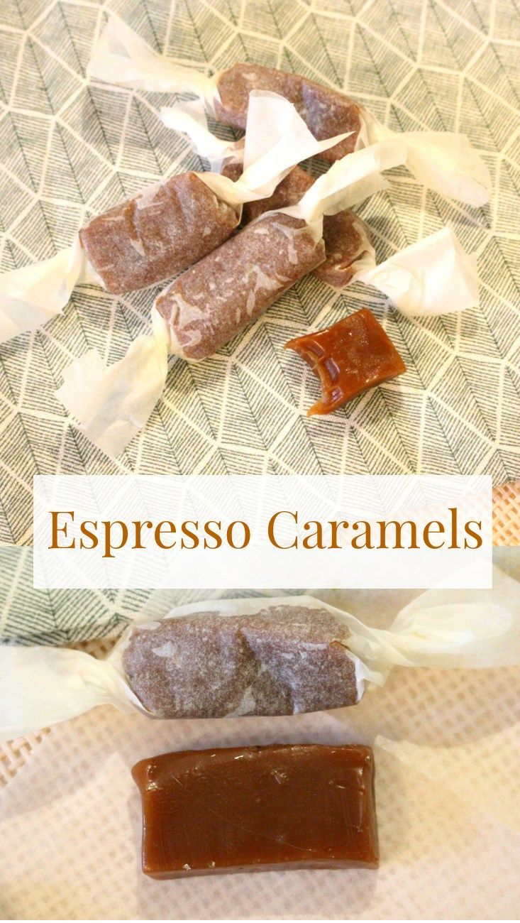 These espresso caramels are perfect for people with a sweet tooth and caffeine addiction! A recipe for homemade candies, which can be used in baking.