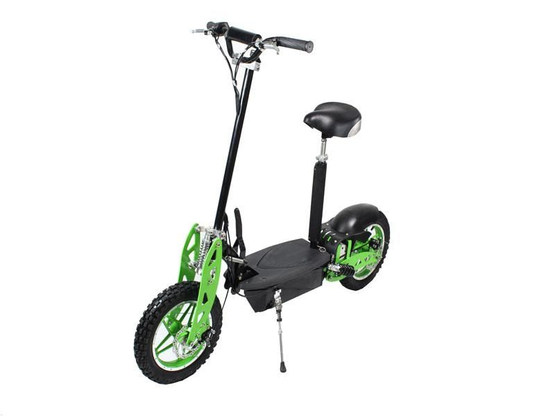 GMX Black/Green 800W MOTOR 36V Electric Scooter   Scooters