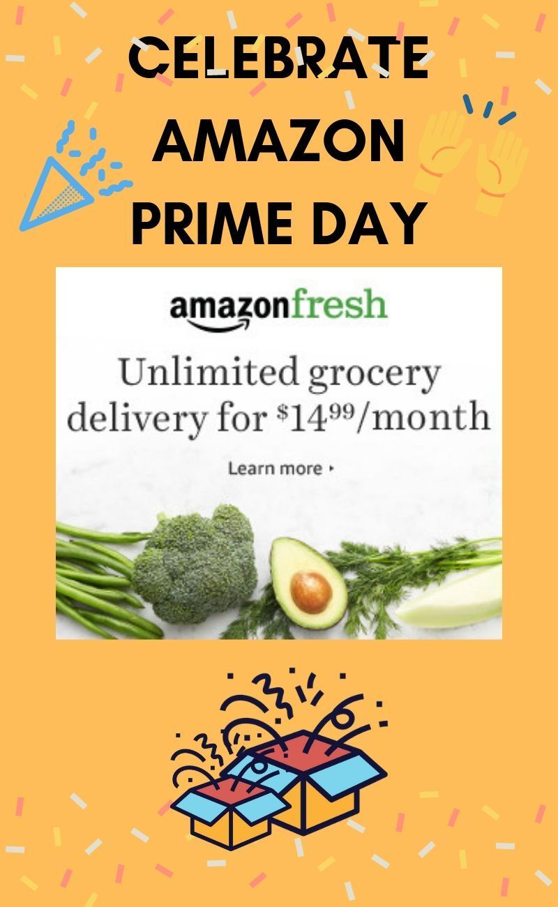Must be a Prime Member for access to Amazon Fresh. Non