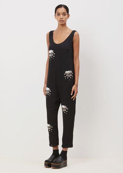 Rachel Comey Barrel Jumpsuit (Handbeaded Cluster)
