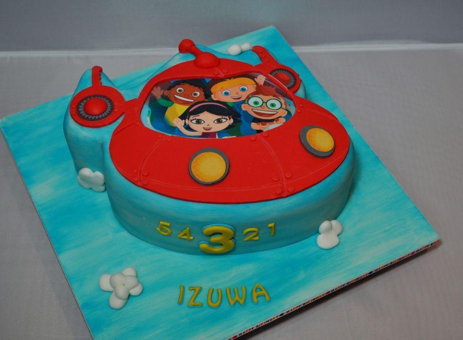 2 D Little Einsteins Rocket Cake Childrens Birthday Cakes