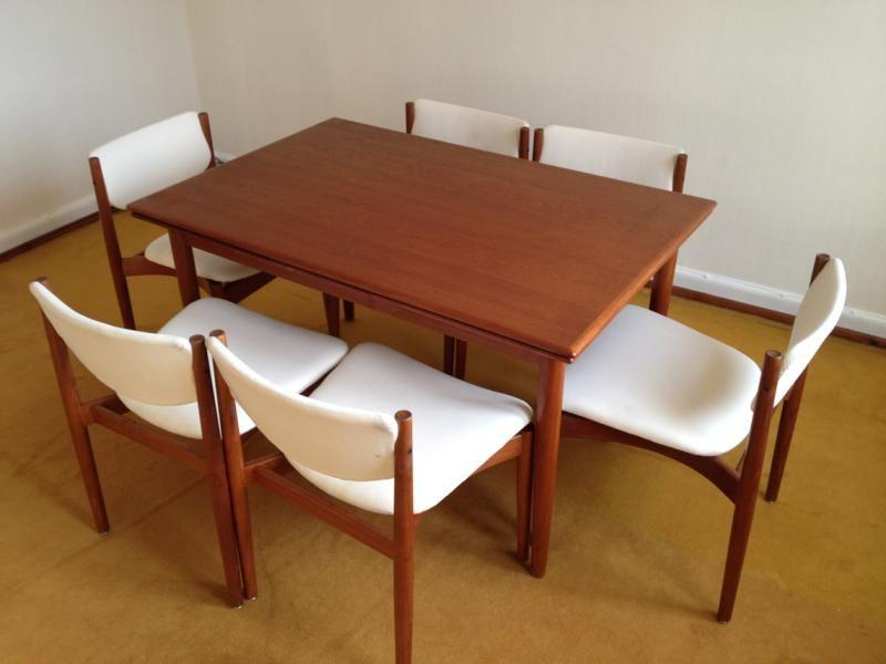 Teak Stühle Dining Chairs Finn Juhl Für France Søn Interieur