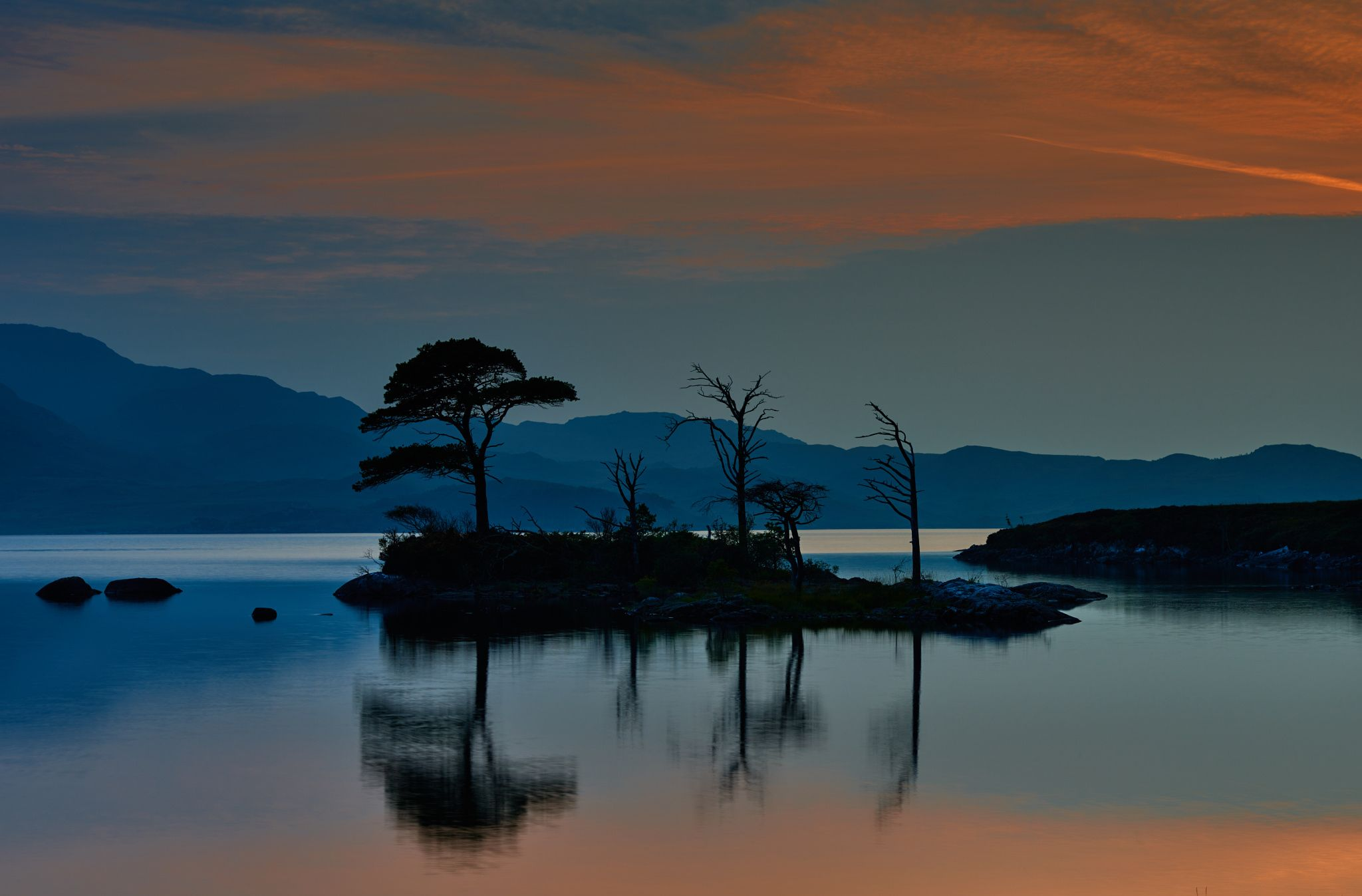 Photograph Sunset at Loch Assynt by Tom Irving on 500px