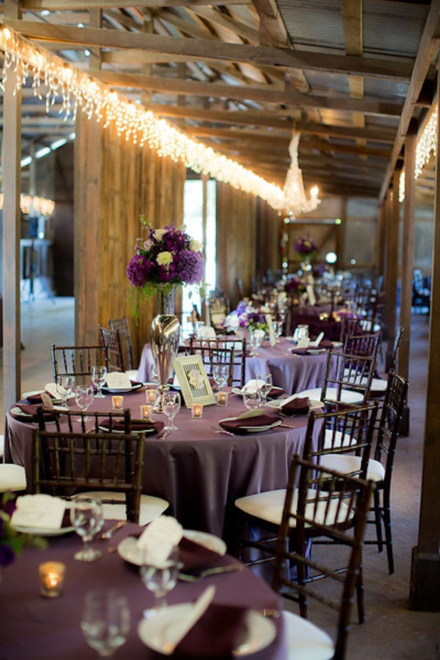 wedding receptions sacramento ca%0A Plum  black and white Wilson Vineyards Sacramento winery wedding by  Apertura Photography with Design by