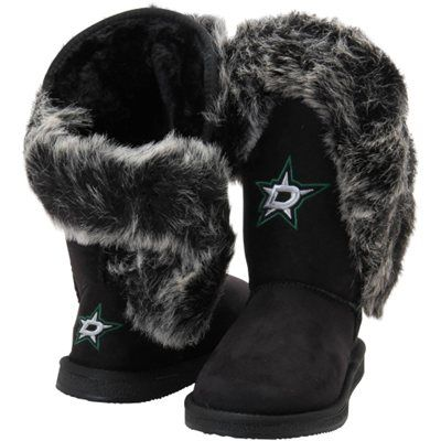 0b0068ef8 Women s Dallas Stars Cuce Black Champions Boots - size 7 -  124.95